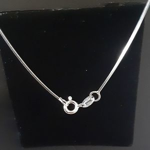 Jewelry - Silver Asymmetrical Heart With Stars Necklace
